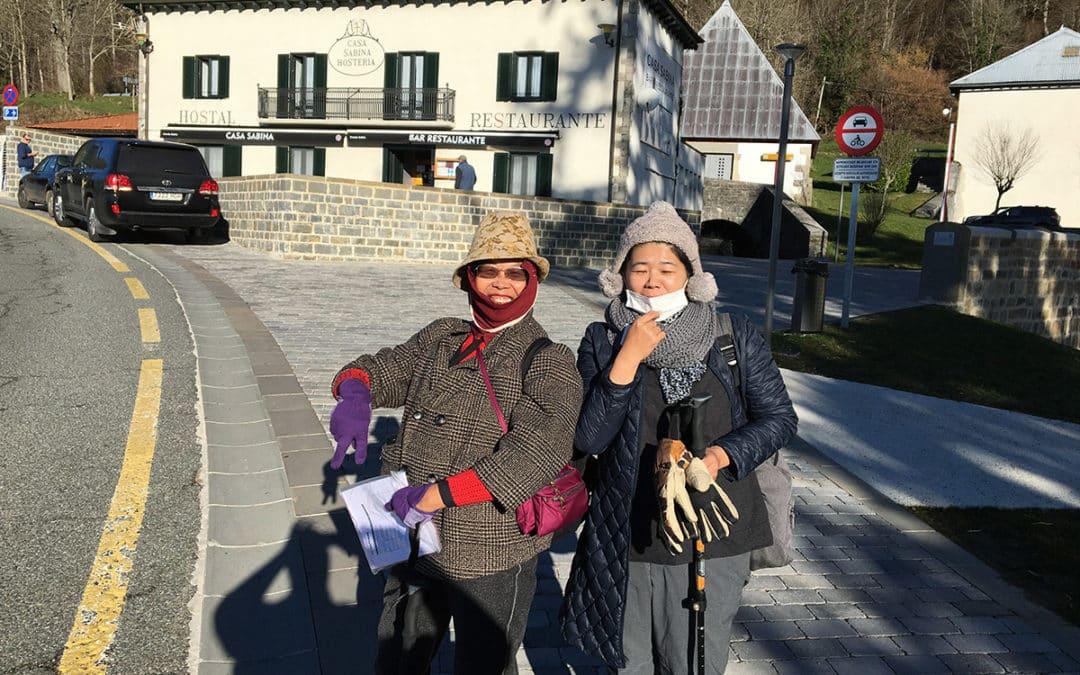 Les pèlerins sont de retour à Saint Jean Pied de Port